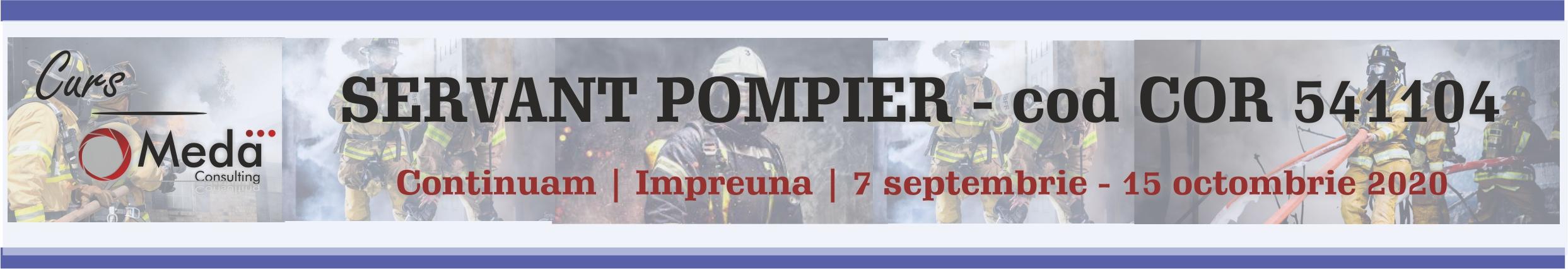 servant pompier cod cor 541104
