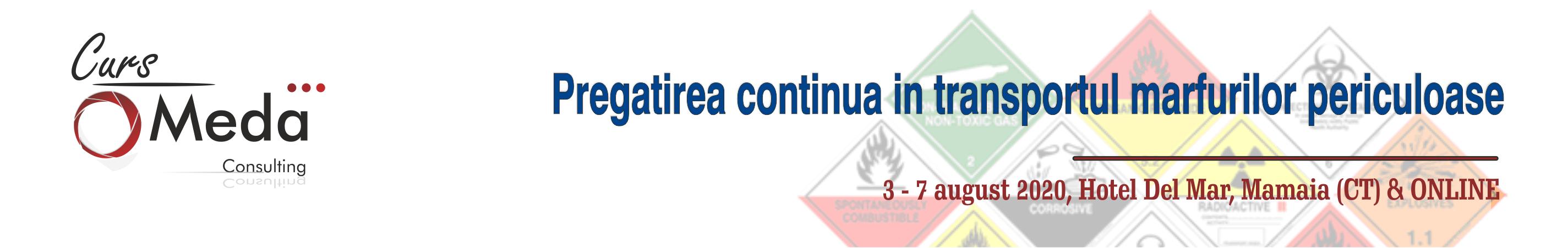pregatirea continuain transportul marfurilor periculoase adr