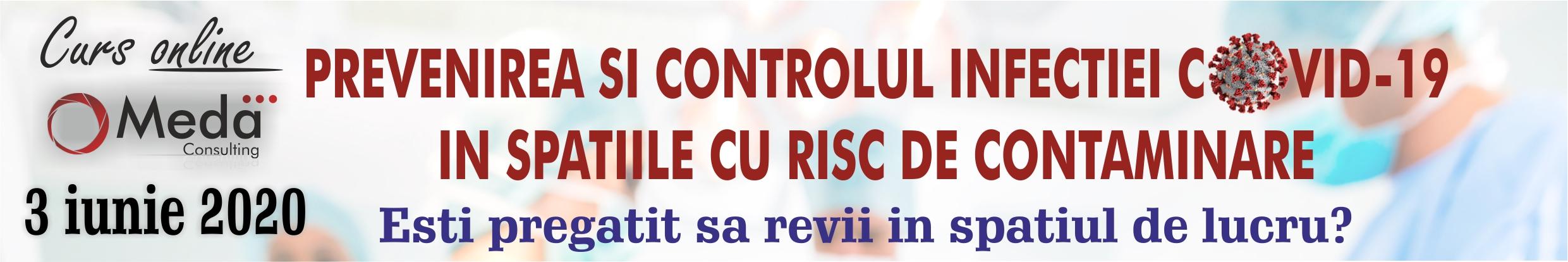 prevenirea si controlul infectiei covid19 sars cov2 in spatiile cu risc de contaminare