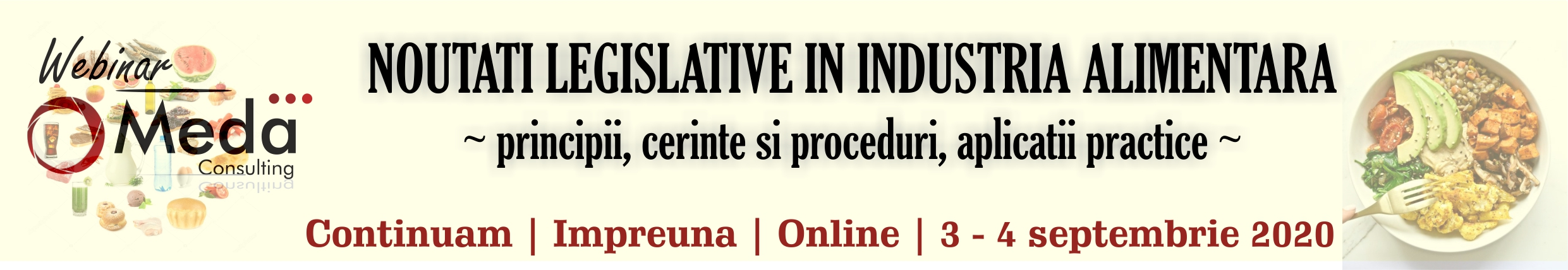 noutati legislative in industria alimentara