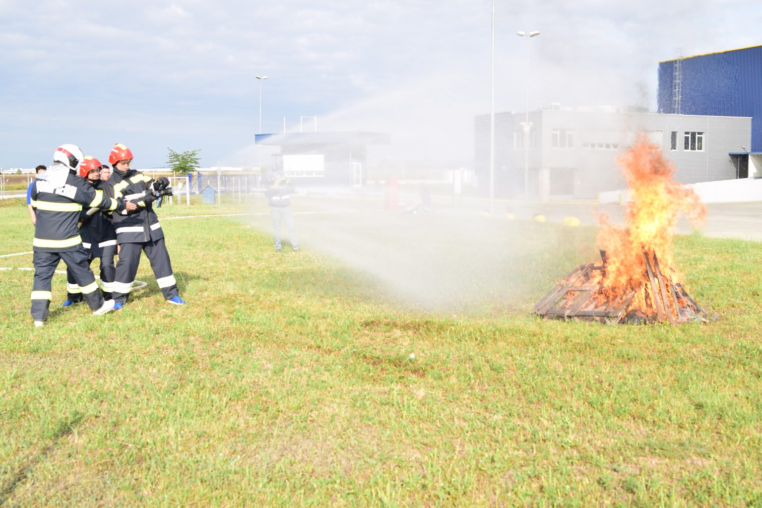 servant pompier ploiesti