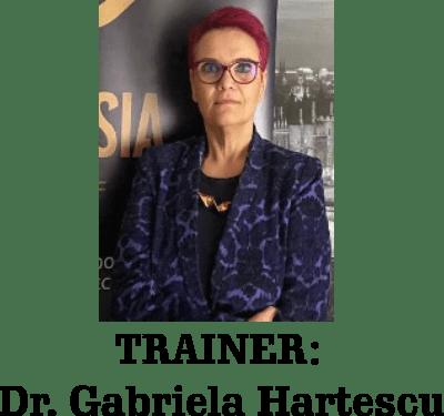 Trainer - Gabriela Hartescu - Meda Consulting Curs  INCOTERMS® 2020