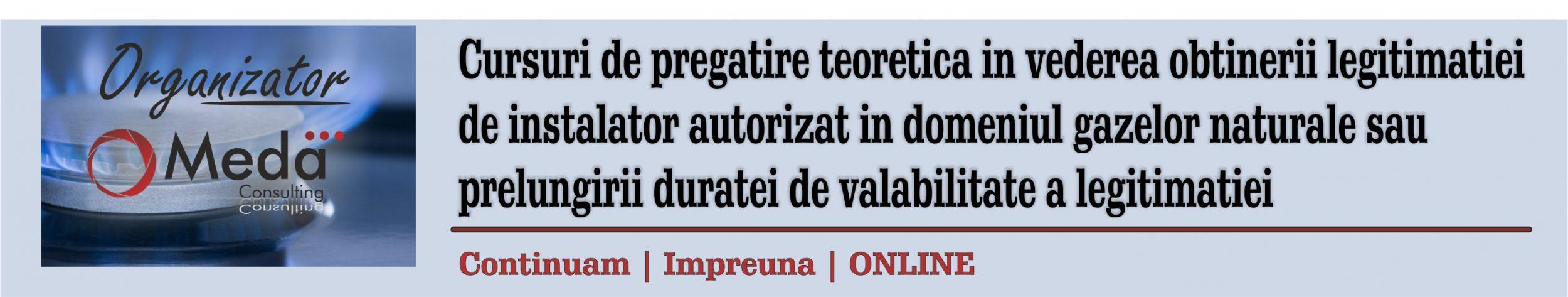 Cursuri ANRE de pregatire teoretica in vederea obtinerii sau prelungirii legitimatiei de instalator autorizat EGD EGIU EGT PGD PGIU PGT